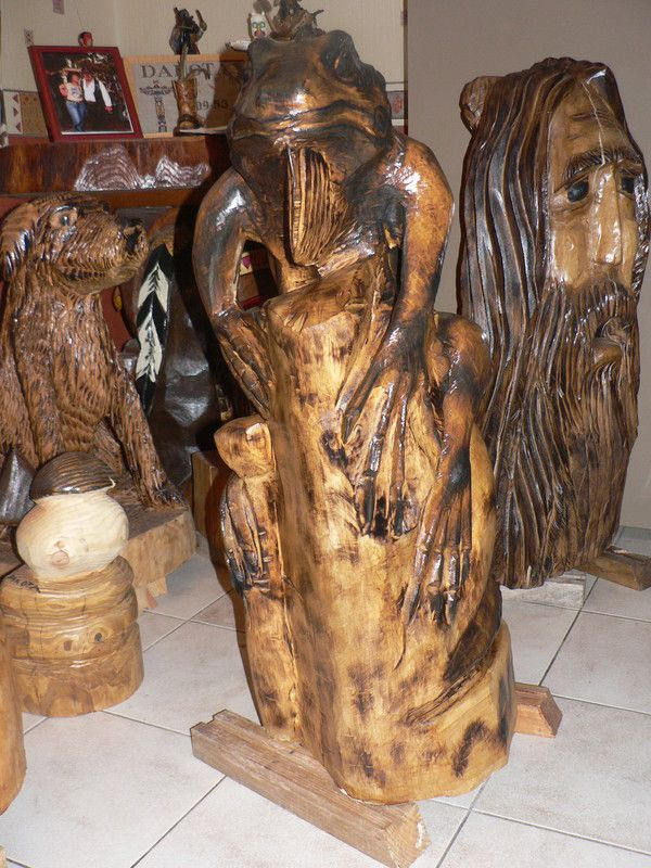 tronçonneuse électrique carving